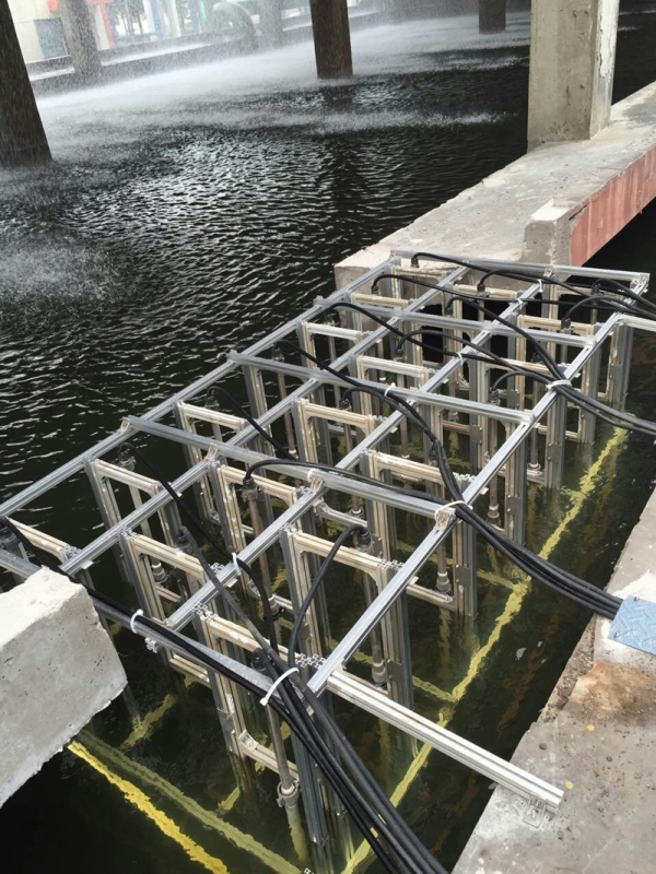 High voltage electrostatic water processor